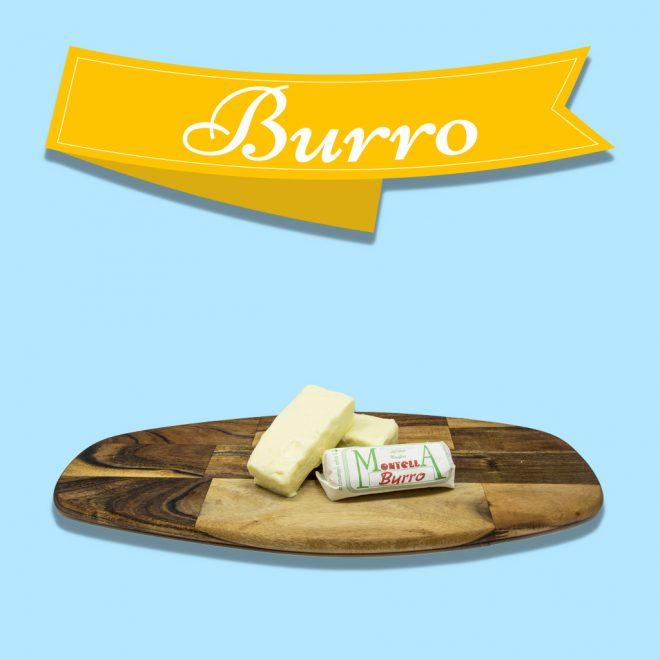 burro prodotti