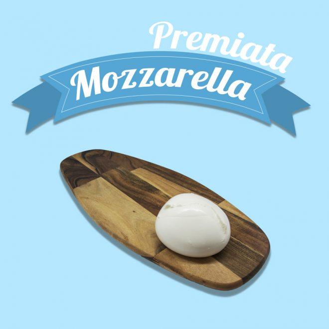 Premiata Mozzarella prodotti